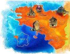 Let's Make A Map: Danny Gregory on Drawing and Travel | Sketchbook Skool Blog