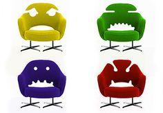 Cadeiras especiais pra criançada