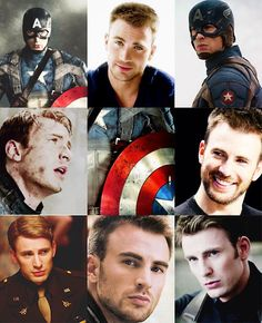 Chris Evans/ Captain America