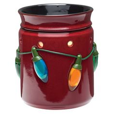 Holiday Lights Full-Size Scentsy Warmer PREMIUM