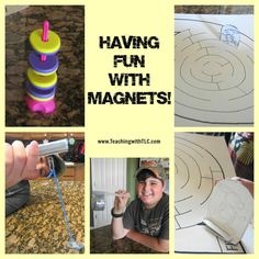 Fun ways to teach about magnets!