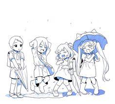 Ebisu, Yato, Kofuku and Bishamon~Noragami
