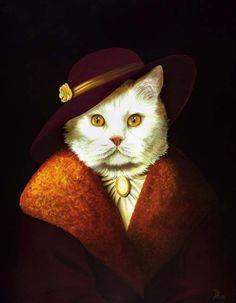 Фото 10, «Кошки - аристократы (12 фото)»
