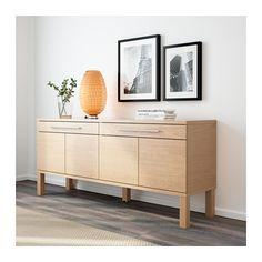 BJURSTA Aparador - chapa roble - IKEA