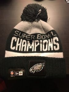 POM PARADE KNIT HAT Philadelphia Eagles Super Bowl Champions Pom Parade Knit  Hat (NEW). Unisex adult. FREE shipping. 6e2a4cb9b4d