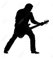 Afbeeldingsresultaat voor guitarist silhouette