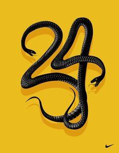 Kobe Bryant #24 Retired Commemorative Snake Black Stitched Jersey Size S-2XL