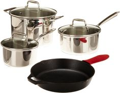 Lodge Elements SC90SET 8-pc silver induction cookware set review