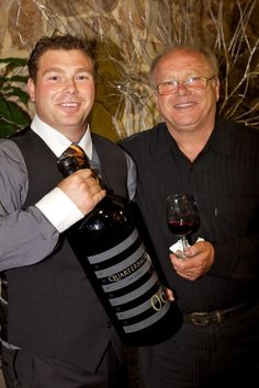 Groom and his father - both winemakers (Mondophotography)