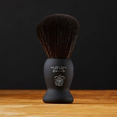 Product Description To commemorate the launch of our Archive Recipe Regents Shaving Soap, here is a TrueBlack™ brush emblazoned with one of our Heritage Logos from the 1800s alongside The Holy Black emblem. All history aside, this is one of the best synthetic Shaving Brushes we've ever tried, with super soft bristles, a balanced handle, and double black from top to bottom. With a rubberized handle for a no slip grip, this brush will last a lifetime or two. 23mm knot made from Taklon fibers…