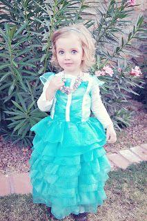 Babblings and More- DIY Princess Costume