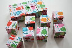 diy fabric puzzle blocks