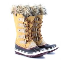 Sorel Boots. Just ordered mine. Hope they keep me snow free this winter!