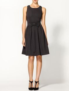{Pim + Larkin Ponte Bow Dress} Cute.