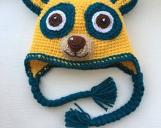 Owl O hat from Daniel Tiger's Neighborhood by Ambercraftstore
