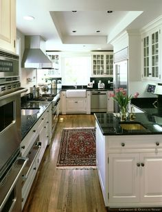 Dallas texas kitchen contrasting countertops amp cabinets wood