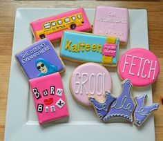 Mean Girls Cookies
