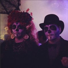 Dia De Los Muertos Makeup, Costume