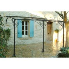 Backyard Pergola Metal - - Pergola Terrasse Bretagne - - Pergola Designs Courtyards - Pergola With Roof And Sides Diy Gazebo, Pergola Canopy, Pergola Swing, Deck With Pergola, Wooden Pergola, Outdoor Pergola, Covered Pergola, Backyard Pergola, Pergola Shade