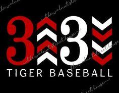 TEAM SPIRIT Baseball Softball Tee Ball three by WalnutStreetHouse2