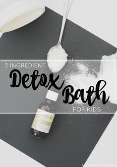 Kids Health 3 ingredient detox bath for kids using essential oils from And Next Comes L - Detox bath for kids using essential oils Essential Oils For Babies, Young Living Essential Oils, Baby Detox Bath, Detox For Kids, Vaccine Detox, Detox Bad, Baking Soda Bath, Sick Kids, Sick Toddler