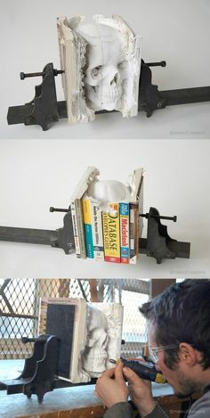 Damn I wish I could do this to all the books at Goodwill, By Maskull Lasserre