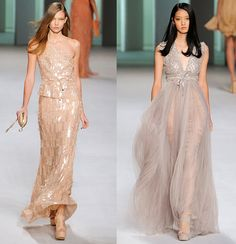 Just saying that the dress on the right would be a wonderful wedding dress (well with a few modifications)