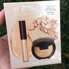 e738054ded7 Becca Glow On The Go Shimmering Skin Perfector Holiday Gift Set Beauty  Review