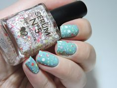Serum No.5 - Some Bunny Loves You - Color Club - New Bohemian - Glitter - Pastels