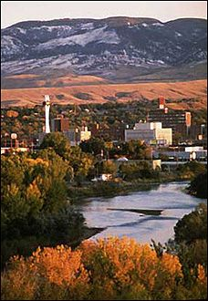 Casper Mountain, Downtown in the foreground, Casper, Wyoming Great Places, Places To See, Beautiful Places, Grand Teton National Park, National Parks, Casper Wyoming, Wyoming Vacation, Mountain States, Scenery