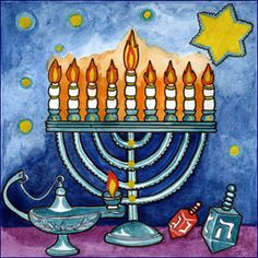 Happy Channukah, everyone!