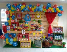 Farm Birthday, 2nd Birthday Parties, Diy Birthday Decorations, 1st Birthdays, Holidays And Events, Party Time, Gingerbread, Ideas, Toddler Boy Birthday