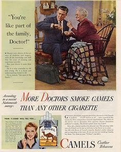 more Doctors Smoke Camels