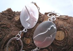 Sterling Silver North & South Island New Zealand by ZaZing on Etsy, $160.00