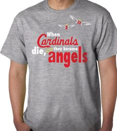 St Louis Stl Cardinals inspired T shirt - Traded Freese and Pujols to Angels Baseball - Priority Shipping on Etsy, $19.95
