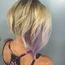 Image result for bob with a pop of color