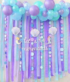 112 ideas de decoración para Fiesta de Sirenas