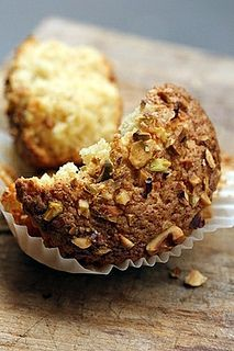 Nutty Magdalenas: An easy, healthy muffin with nuts! Theres more at http://porkrecipe.org/posts/Nutty-Magdalenas-An-easy-healthy-muffin-with-nuts-37526