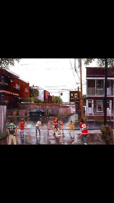Verdun alleys Of Montreal, Pictures, Photos, Drawings