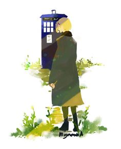 Dictor Who. 13th Doctor fanart.