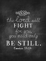 This verse is one of our families theme verses! My son says it in a fighting stance! LOL! I cling to it when it comes to my business and personal life. From Sweet Blessings: Printable Chalk Verses~ Set #1