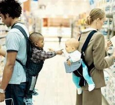 Just a note: No one is born racist. It is a despicable and completely taught phenomenon.