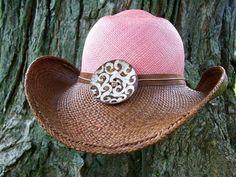 d8db490fa66e3 I need a custom pink cowboy hat!