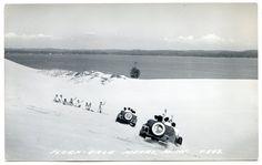 Mears MI Flora Dale Sand Dune Cars Oceana County Mich Silver Lake RPPC | eBay