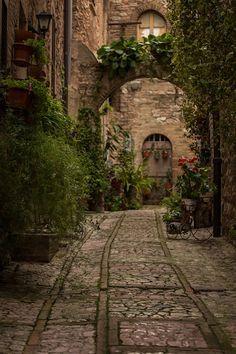 Spello Streets, Umbria