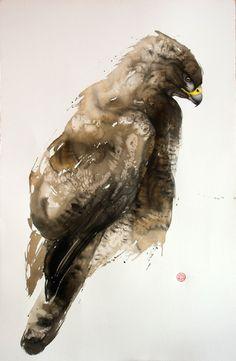Buzzard, 150x100 cm - Karl Mårtens