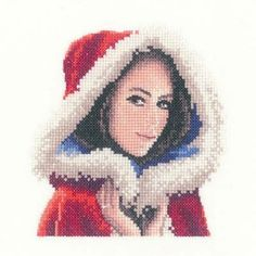 Scarlett Miniature Cross Stitch Kit - only £13.45 on Past Impressions | Designed by John Clayton for Heritage Crafts