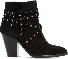 DUNE Payten suede ankle boots