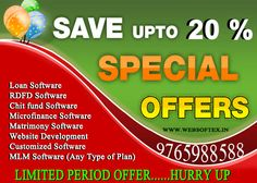 MLM Software plays an important role for successful multi level marketing business. MLM companies to manage and run their direct selling business more effectively towards a successful way. Every MLM Company needs a MLM Software for revenue management and customer status. You are on the right place to start your own MLM Company with our excellent IT support and services.