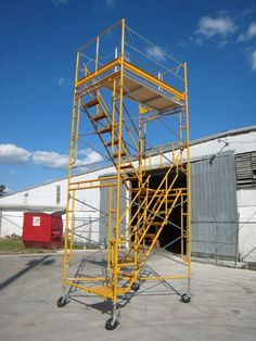 Bil Jax Style Internal Stair Scaffolding Tower Packages made by Scaffold Mart